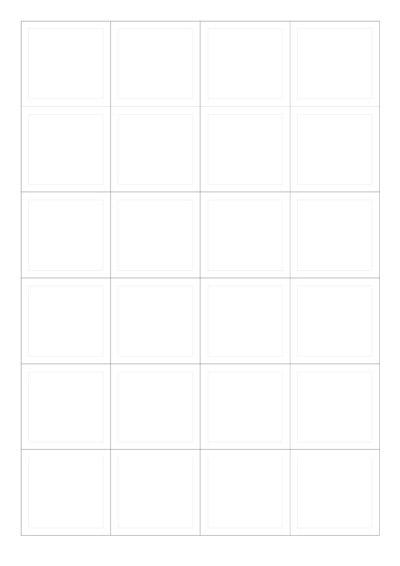 Bastelvorlage zum Ausdrucken für den Lily Lux Adventskalender zum Selberbasteln