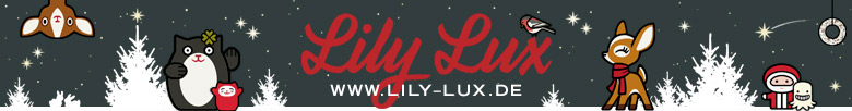 Lily Lux Banner für den Winter