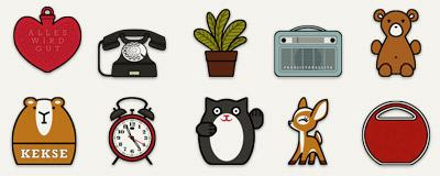 Desktop Icons für Lily Lux