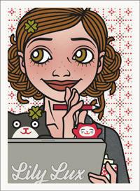 Lily Lux Passbild zu Gewinnspiel und Verlosung mit Preisrätsel und Winkekatzen als Glücksbringer