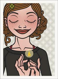 Lily Lux Passbild mit Zündholz und Flamme für Laternen