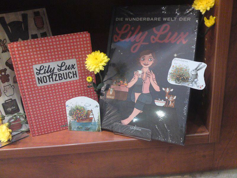 Buchgeburtstag mit Lily Lux
