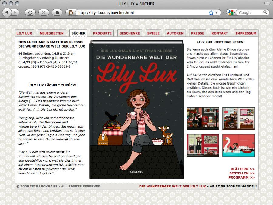 Buchvorstellung für Die wunderbare Welt auf Lily Lux Online