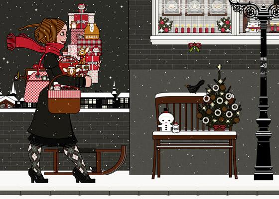 Lily Lux Online Adventskalender Spiel