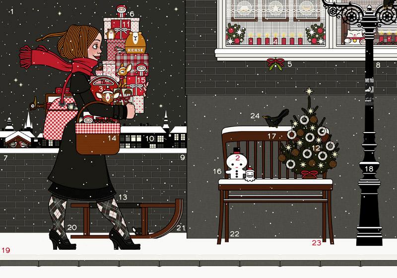 Lily Lux Adventskalender Online